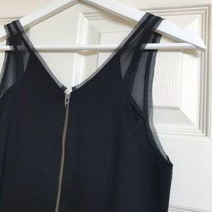 Helmut Lang scuba dress